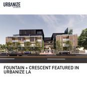 Fountain + Crescent Urbanize LA Planning Approval