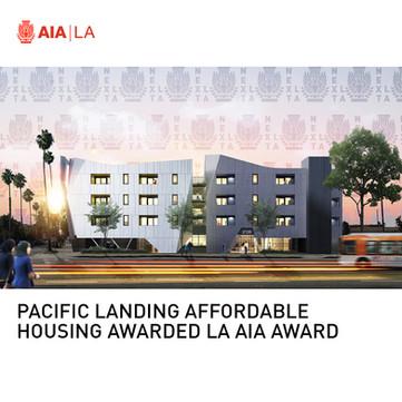 Pacific Landing Affordable Housing Next LA Award