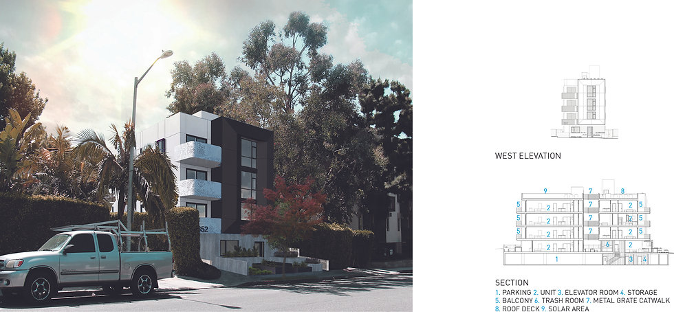 Architecture Informed by Technology Sustainability Innovation, West Knoll Apartments in West Hollywood by Tighe Architecture