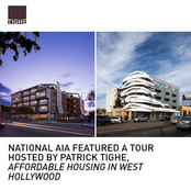 National AIA Tour Affordable Housing WeHo