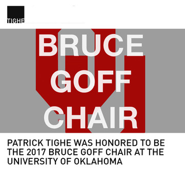 Bruce Goff Chair Patrick Tighe
