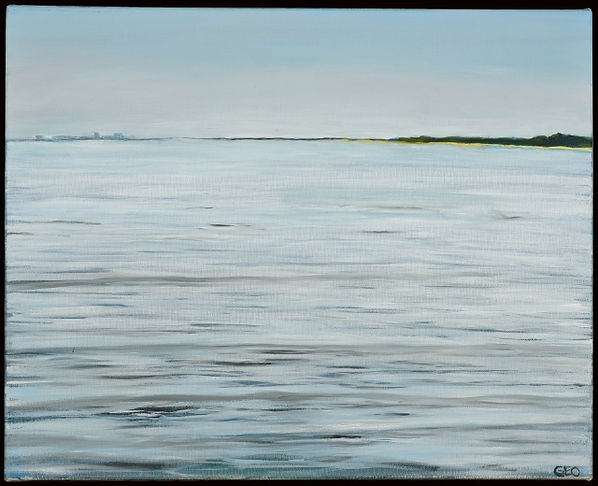 North Point Morning 16 x 20 oil on canva