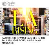 Patrick Tighe Douglas Elliman Magazine
