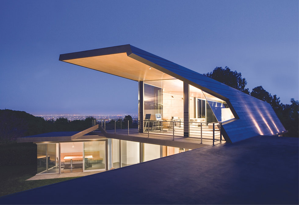 Architecture Informed by Technology Sustainability Innovation, Tigertail Residence in Los Angeles by Tighe Architecture