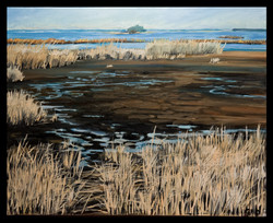 Blackwater Winter 16x20 oil on canvas (2