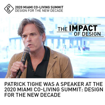 Patrick Tighe Speaker Miami Co-Living Summit