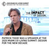 Patrick Tighe Speaker Miami Co-Living Summit