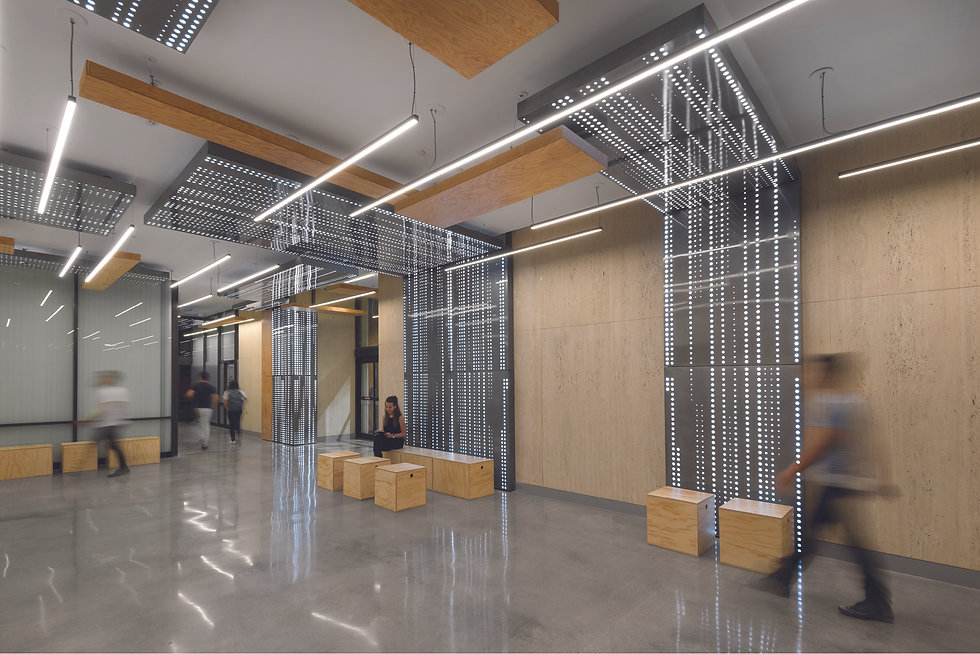 Architecture Informed by Technology Sustainability Innovation, Burbank Connexion Interior Revival in Burbank by Tighe Architecture