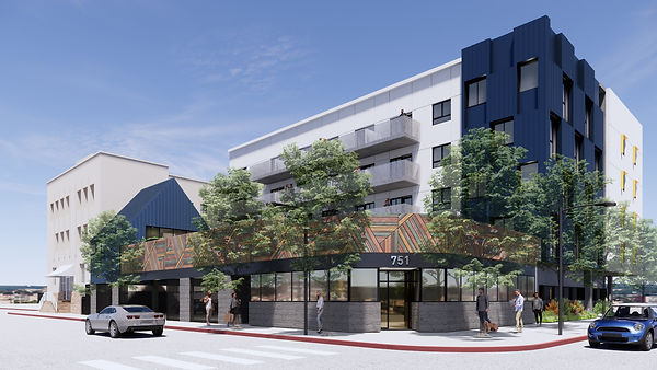 Architecture Informed by Technology Sustainability Innovation, Valencia Mixed-Use in Los Angeles by Tighe Architecture