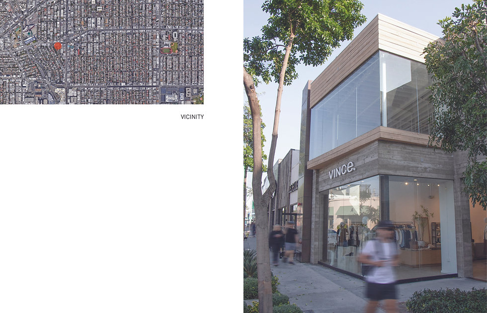 Architecture Informed by Technology Sustainability Innovation, Vince on Melrose, Retail in West Hollywood by Tighe Architecture