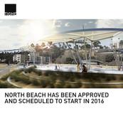 North Beach Park Under Construction Santa Monica