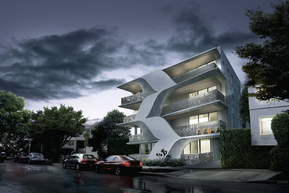 Architecture Informed by Technology Sustainability Innovation, Sweetzer Apartments in West Hollywood by Tighe Architecture