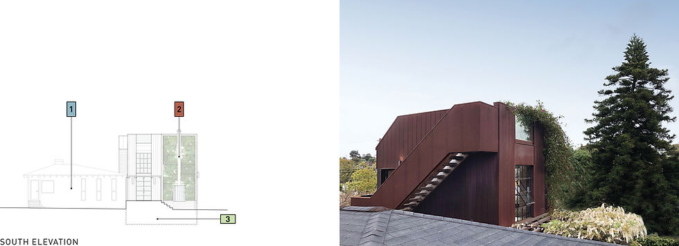 Architecture Informed by Technology Sustainability Innovation, 3 in 1 House ADU in Santa Monica by Tighe Architecture