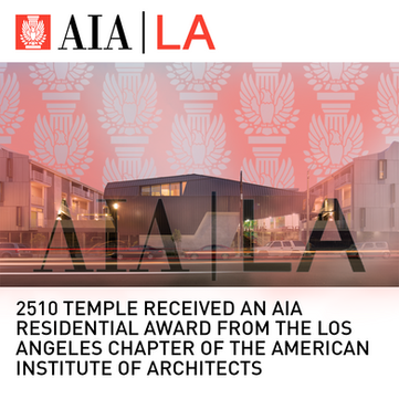 2510 Temple Mixed-Use AIA Award