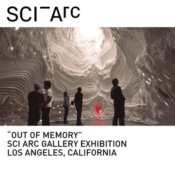 Out of Memory Immersive Installation SCI-Arc Gallery
