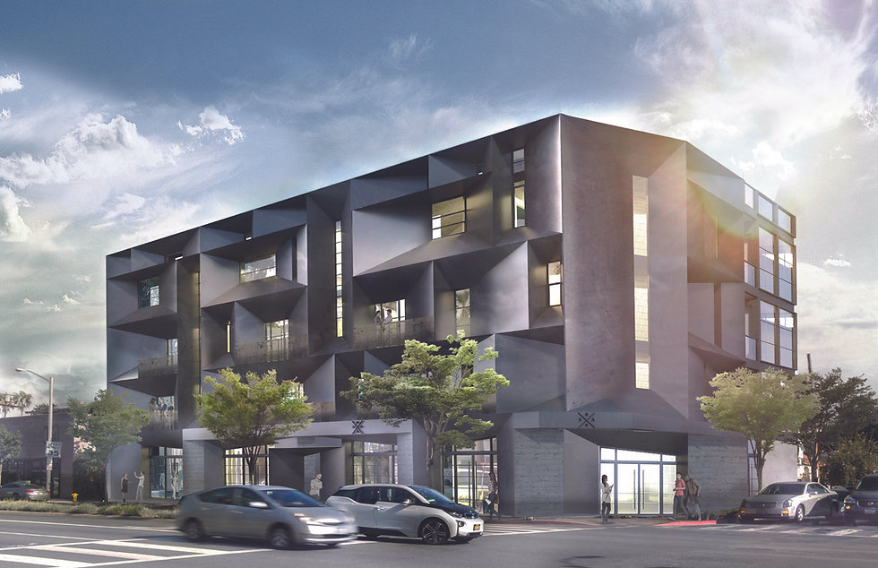 Architecture Informed by Technology Sustainability Innovation, Fairfax Mixed-Use in West Hollywood by Tighe Architecture