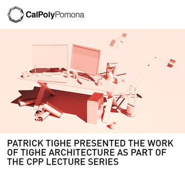 Patrick Tighe Lecture Cal Poly Pamona