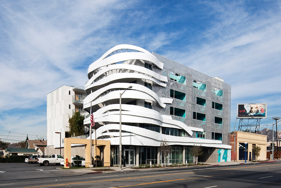 Architecture Informed by Technology Sustainability Innovation, Iconic La Brea Affordable Housing in West Hollywood by Tighe Architecture
