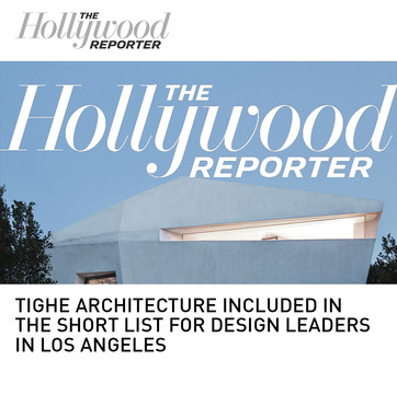 Tighe Architecture Design Leaders List Hollywood Reporter