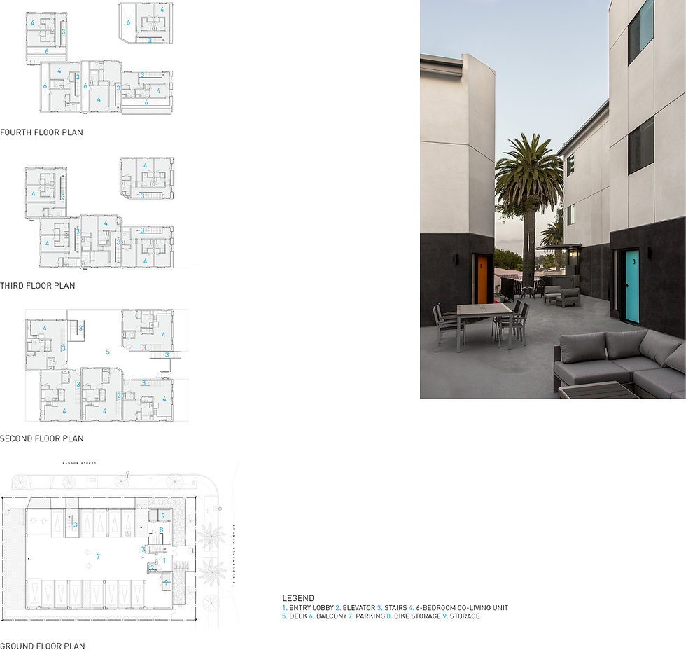 Architecture Informed by Technology Sustainability Innovation, Cloverdale Co-Living in Los Angeles by Tighe Architecture