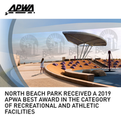 North Beach Park APWA BEST Award