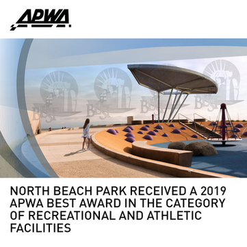 North Beach Park APWA BEST Award