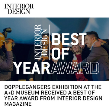 Doppelgangers Exhibition Inerior Design Best of Year Award