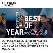 Doppelgangers Exhibition Inerior Design Best of Year Award