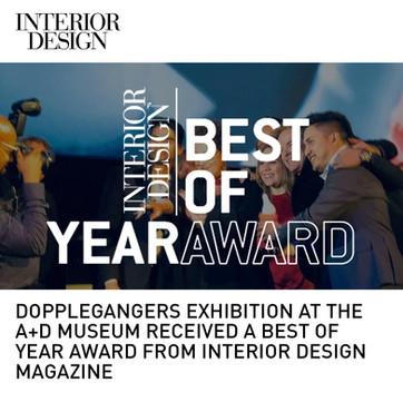 Doppelgangers Exhibition Interior Design Best of Year Award