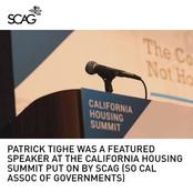 California Housing Summit Keynote Speaker Tighe