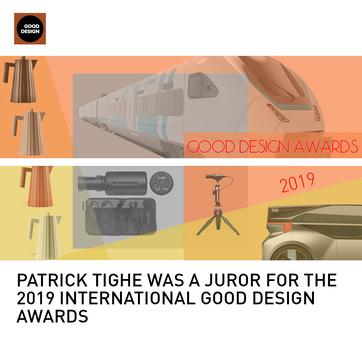 Patrick Tighe International GOOD Design Awards Juror