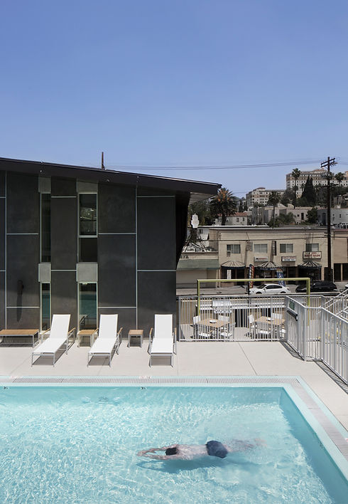 Architecture Informed by Technology Sustainability Innovation, 2510 Temple Mixed-Use in Los Angeles by Tighe Architecture