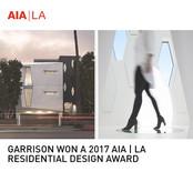 Garrison Residence AIA Award
