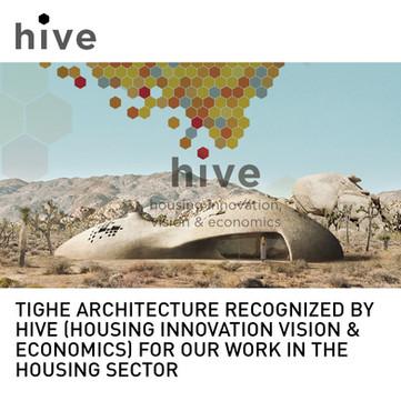 Spray On House HIVE Award