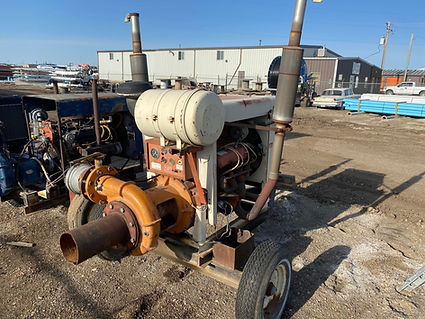 used international pumping unit