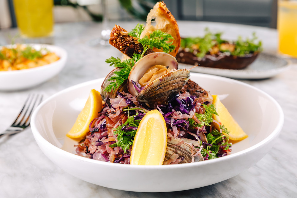 Traymore Cabbage and Clams