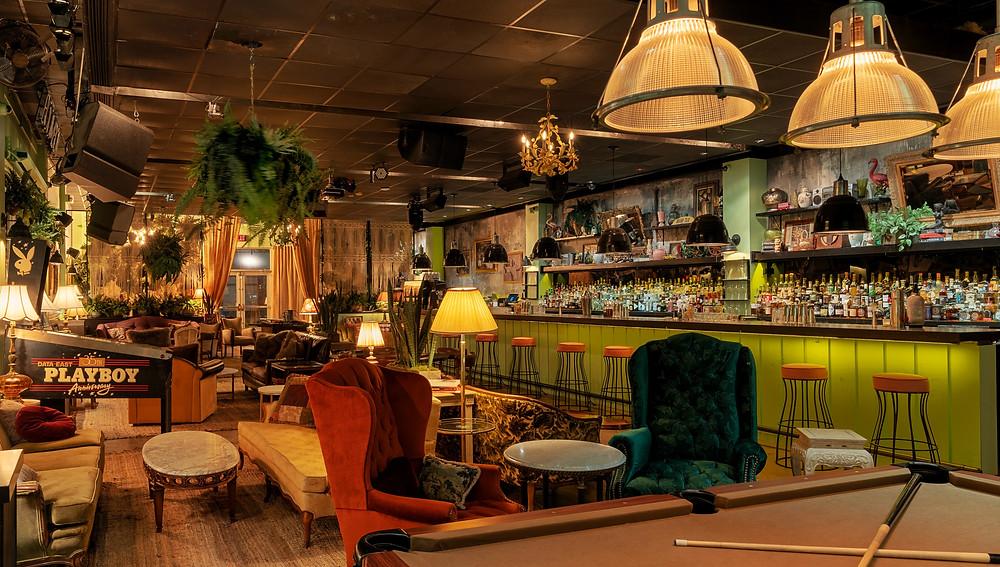 Midtown Miami's Sylvester Cocktailery interior
