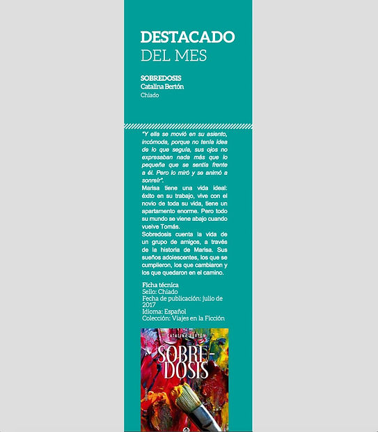 Revista La Mirilla Sobredosis Libro