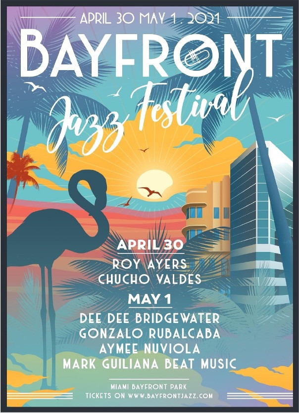 Bayfront Jazz Festival flyer