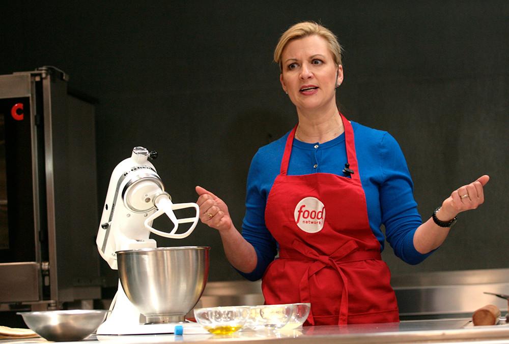 Гостуване на Анна Олсън, световно известен готвач, звезда на Food Network в София