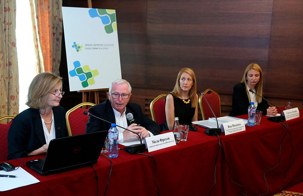 Посещение на Мела Фреуен, Генерален директор на FoodDrinkEurope, в София