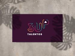 Identidade Visual 3UP Talentos