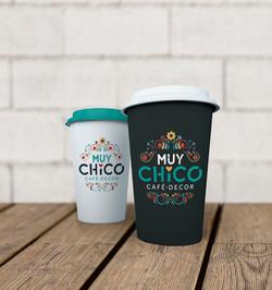 Identidade Visual Café Muy Chico
