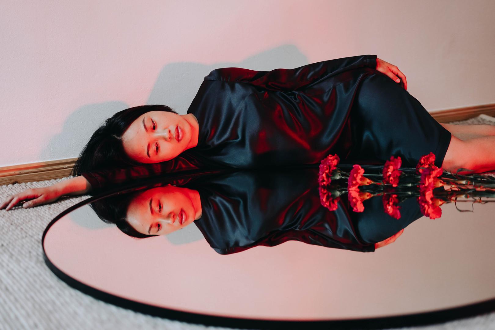 AIDAROV BLACK DRESS