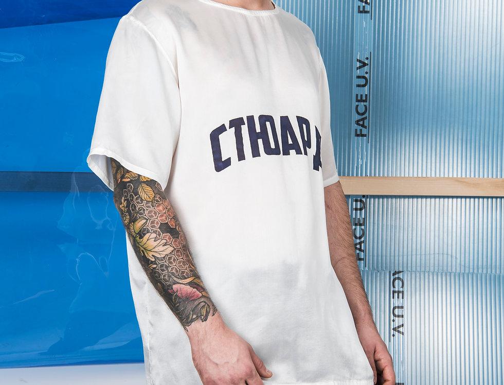 STEWARDESS SILK T- Shirt