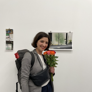 A solo exhibition by Stefana Dilova