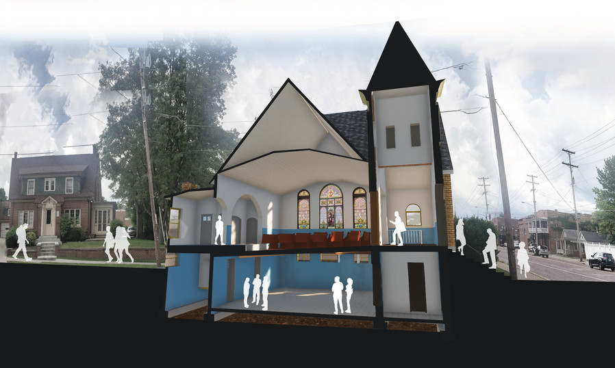 mt zion 3d section Image (with pews) (40