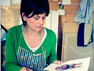 A Visit to Antonia Rolls - Artist & Defender of Bognor Regis