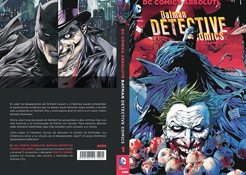 BATMAN DETECTIVE COMICS VOL.1
