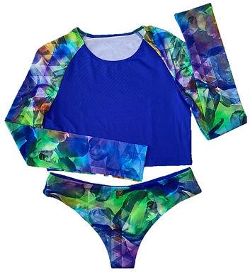 Waves Bikini (Rainbow)
